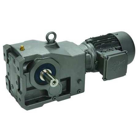 Gearmotor, AC, 137 RPM, 230/460V
