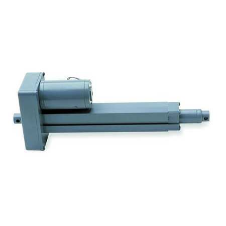 Linear Actuator, 12VDC, 250 lb., 4 In