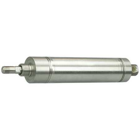 "1-1/4"" Bore Round Double Acting Air Cylinder 1"" Stroke"