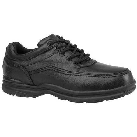 Work Shoes, Stl, Mn, 9, Blk, PR