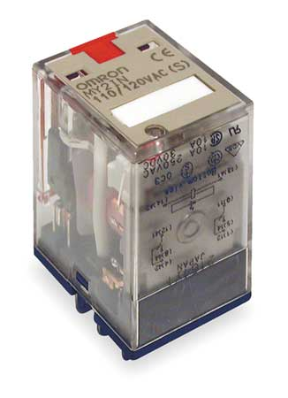 Plug In Relay, 8 Pins, Square, 24VDC