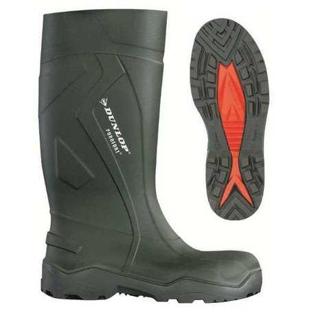 "Knee Boots, Sz 9, 14-3/4"" H, Green, Stl, PR"