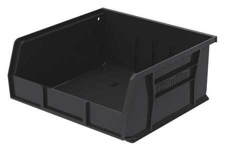 ESD Conductive Bin, 10-7/8x11x5 In, Black