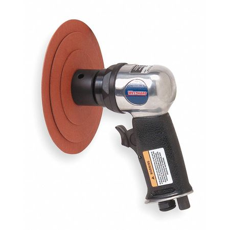 Air Random Orbital Sander, 0.5HP, 3 In.