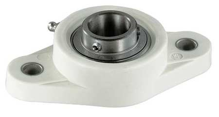 "Flange Bearing, 2-Bolt, Ball, 1-3/16"" Bore"