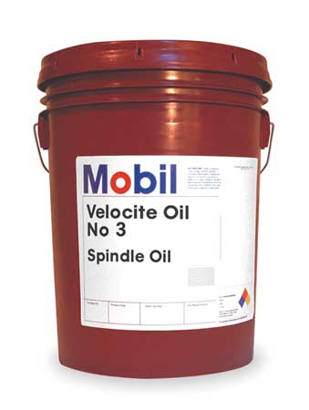 Mobil Velocite 3,  Spindle Oil,  5 gal.