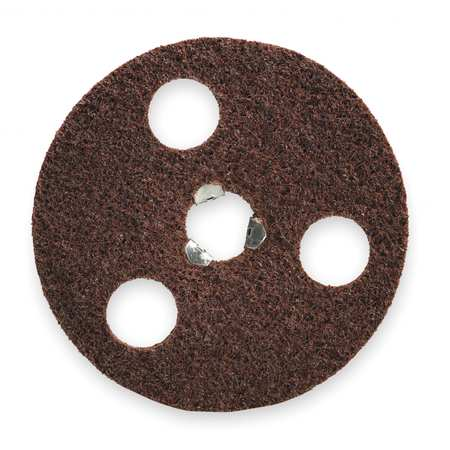 Quick Change Disc, AlO, 4-1/2in, Crs, TP