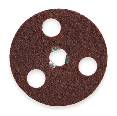 Quick Change Disc, AlO, 4-1/2in, Med, TP