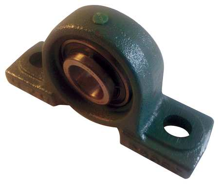 "Pillow Block Bearing, Ball, 2-15/16"" Bore"