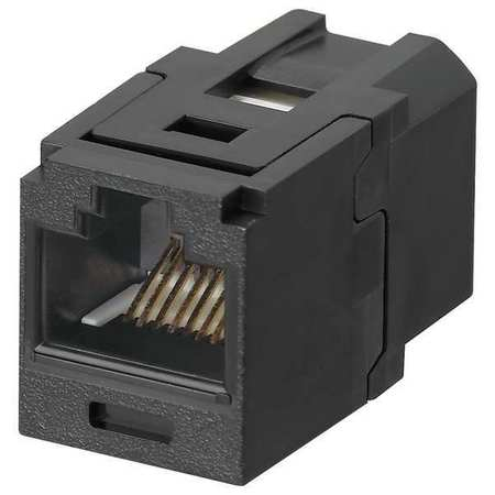 Coupler Module, RJ45, Cat6, Black