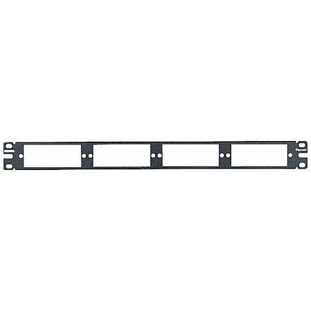 Patch Panel, 48 Ports, Flat Fiber, Rack, 1RU