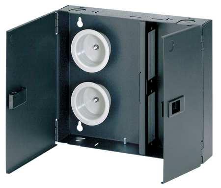 Fiber Enclosure, 10.18in H, 2.32in D, Black