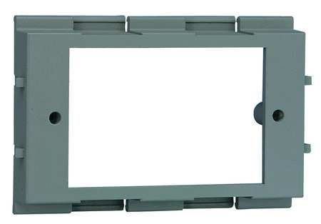 Device Bracket, Gray, PVC, Brackets