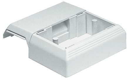 Offset Box, Off White, PVC, Boxes