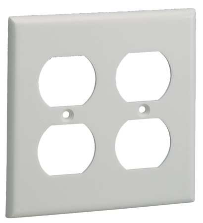Plate, Off White, PVC, Plates