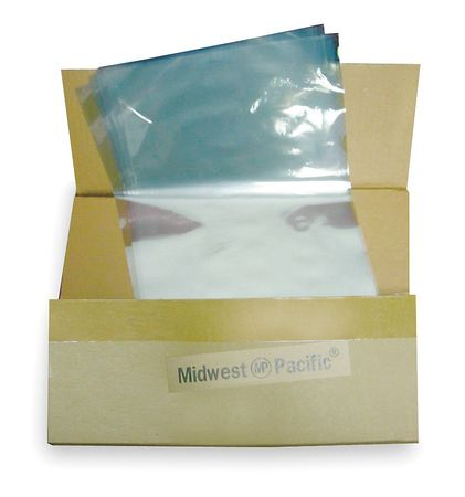 "Heat Activated Shrink Bag 8""W,  Pk500"