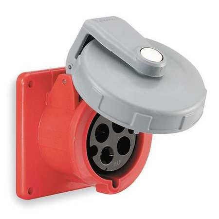 IEC Pin and Sleeve Receptacle, 20A, 480V