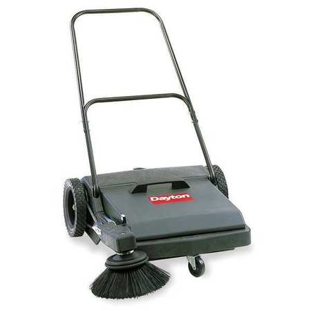"Push Sweeper, Walk Behind, 27"", 8 gal."
