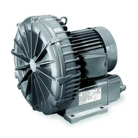 Regenerative Blower, 0.56 HP, 56 CFM