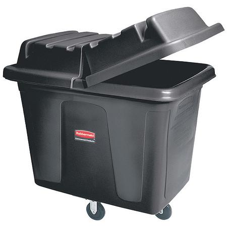 Cube Truck, 7/16 cu. yd., 400lb. Cap, Black
