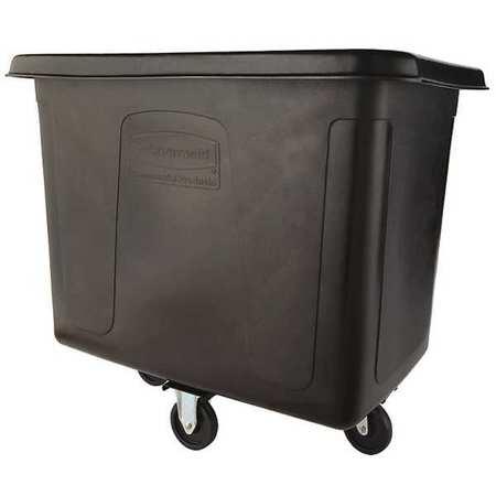 Cube Truck, 1/2 cu. yd., 500 lb. Cap, Black