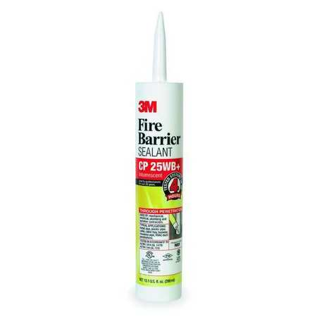 Fire Barrier Sealant, 10.1 oz., Red-Brown