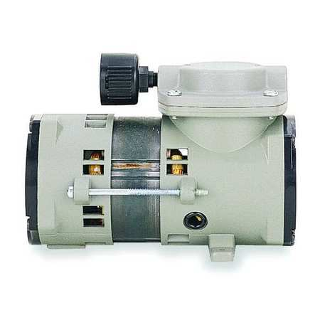 Compressor/Vacuum Pump, 0.1 HP, 60 Hz, 115V
