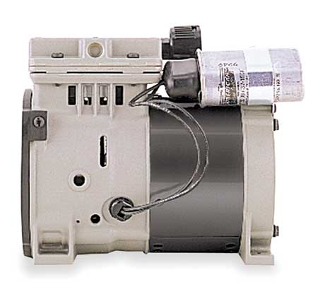 Piston Air Compressor/Vacuum Pump, 1/3HP