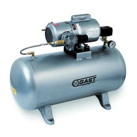 Electric Air Compressor, Tank Mounted