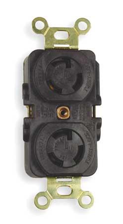 15A Locking Receptacle 2P 3W 277VAC L7-15R BN