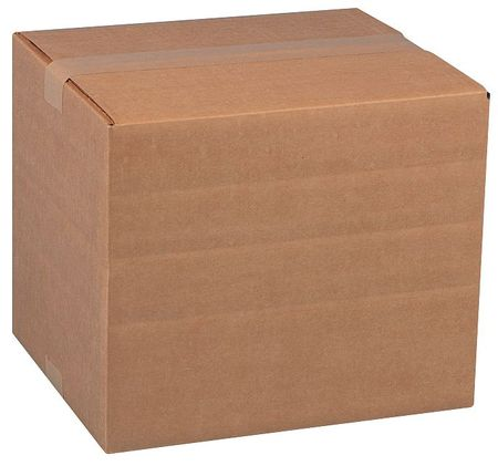 Multidepth Shipping Carton, Brown, 5 In. L