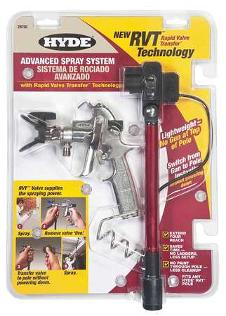 Advanced Paint Spray System, 18 1/4 In.