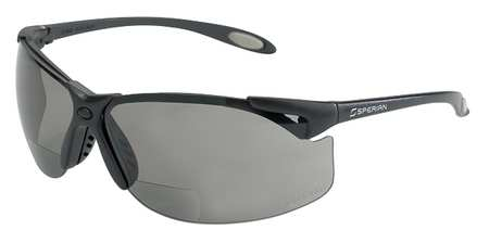 Reading Glasses, +1.5, Gray, Polycarbonate