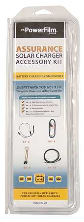 Solar Charger Cord Kit, w/Charge Ctrl