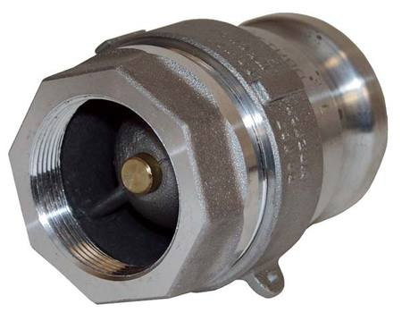 Dry Disconnect Adapter, 2-1/2x2 In, 150psi
