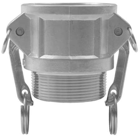 Coupler, 3In, 125psi, Female Coupler x MNPT