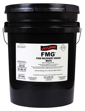 Food Grade Grease, 5 Gal. Pail