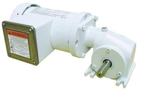 AC Gearmotor, 172 rpm, TEFC, 208-230V