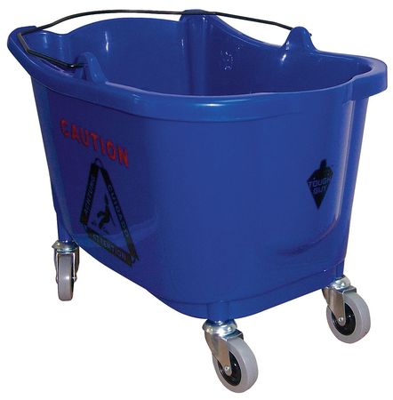 Mop Bucket, 8-3/4 gal., Blue