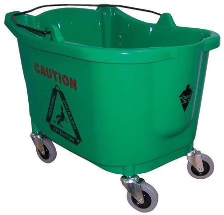 Mop Bucket, 8-3/4 gal., Green