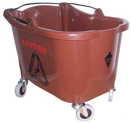 Mop Bucket, 8-3/4 gal., Brown