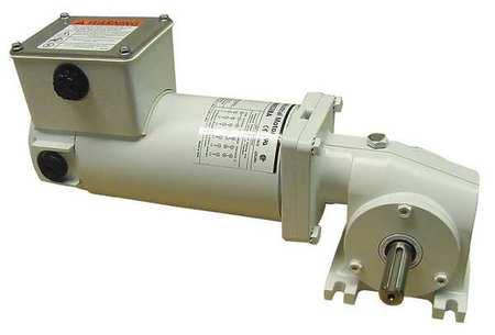 DC Gearmotor, 125 rpm, 90V, TENV