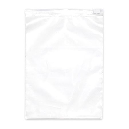 "Reclosable Poly Bag Slide Seal 10"" x 8"",  3 mil,  Clear,  Pk250"