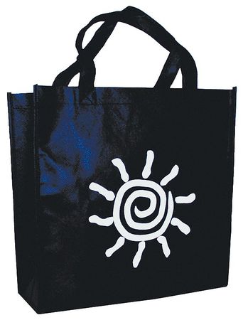 "Reusable Shopping Bag 12"" x 16"",  1.85 mil,  Pk100"