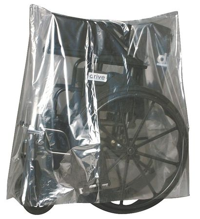 "58"" x 22"" Equipment Cover,  1 mil,  Pk100"