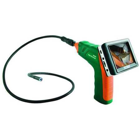 Video Borescope, 3.5 In, 36 In Shaft