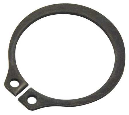 Retaining Ring, Ext, Shaft Dia 5 In