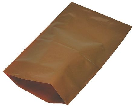 "18"" x 12"" Amber UV Protective Bags,  2 mil,  Pk1000"