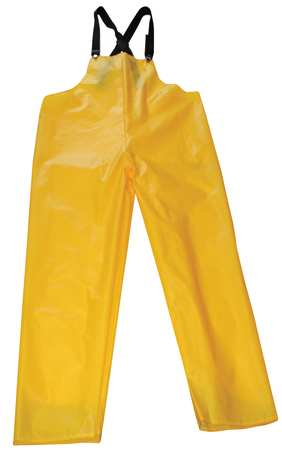 Rain Bib Overall, Gold, 4XL