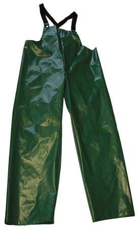 Rain Bib Overall, Green, 4XL